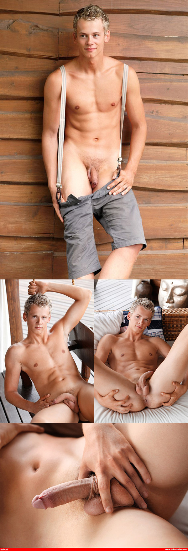Cute Blond Jerome Exupery at Bel Ami