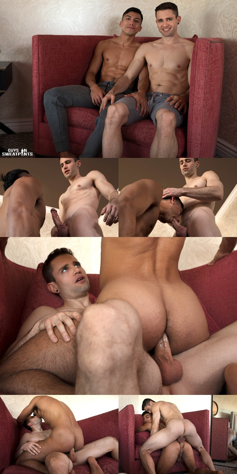 Quin Quire Fucks an Unbelievable Cumshot Out of Romeo Foxx