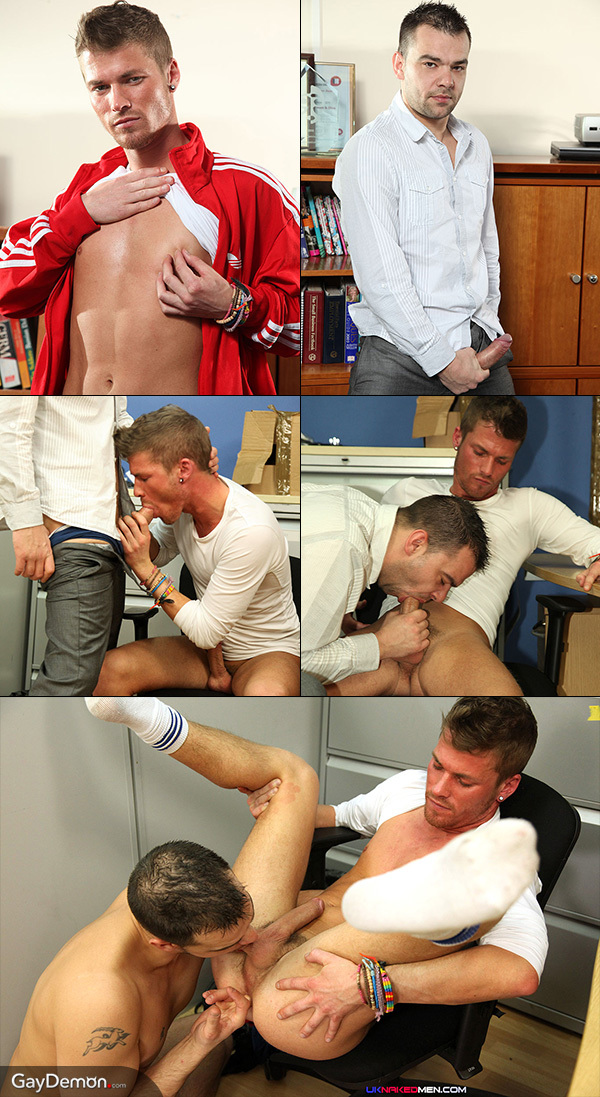 Caught Wanking in the Office