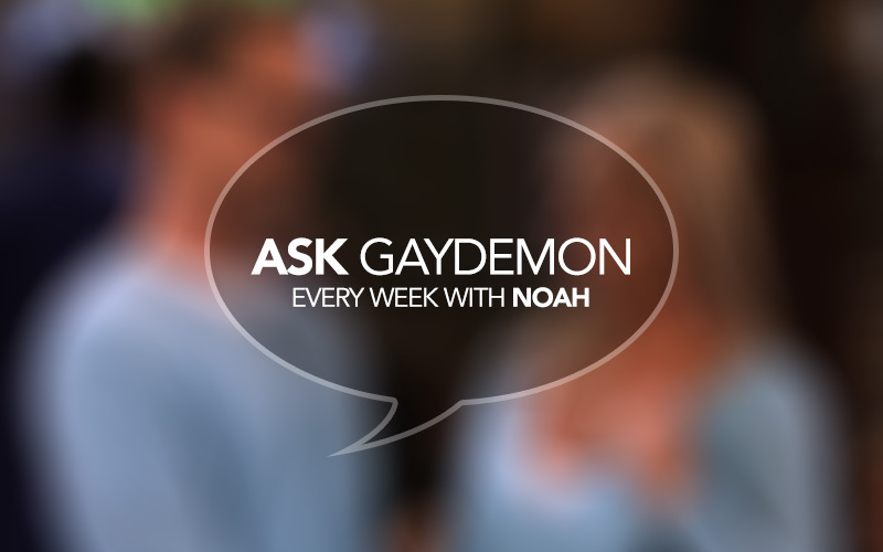 Ask GayDemon: Silence = Relief
