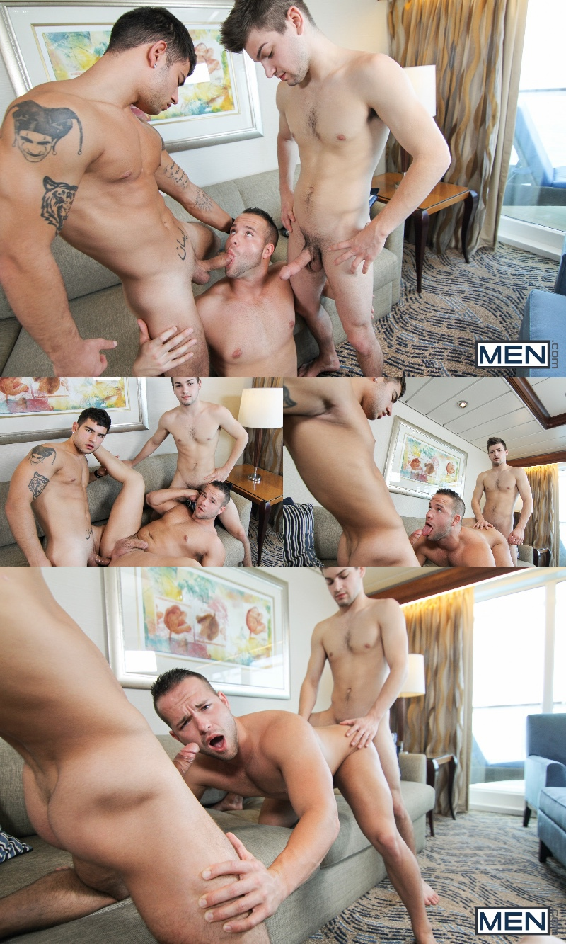 Men At Sea Part 3: Johnny Rapid, Luke Adams & Vadim Black
