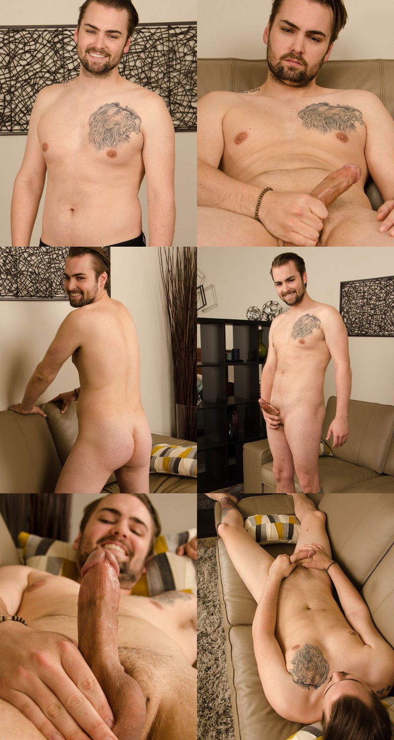 Nervous First-Timer Needs a Handie to Spring his Dick to Live and Then ...