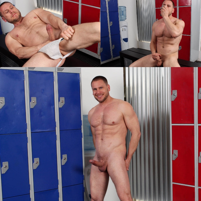 Hans Berlin Does UK Hot Jocks' Locker Jock