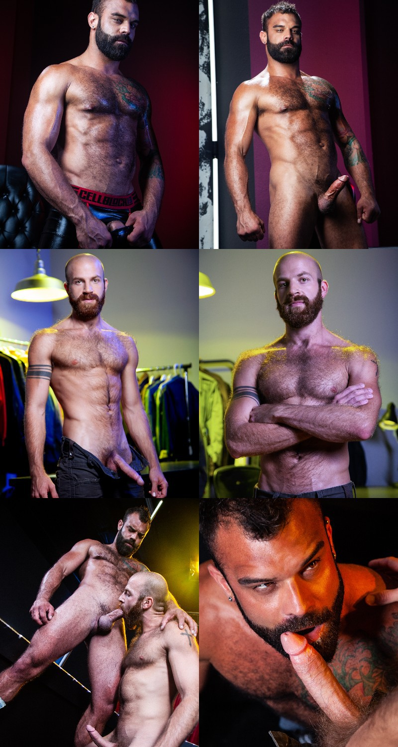"James Stevens & Drake Masters Blow Jizz On One Another's Beards in ""Otter Erotic"""