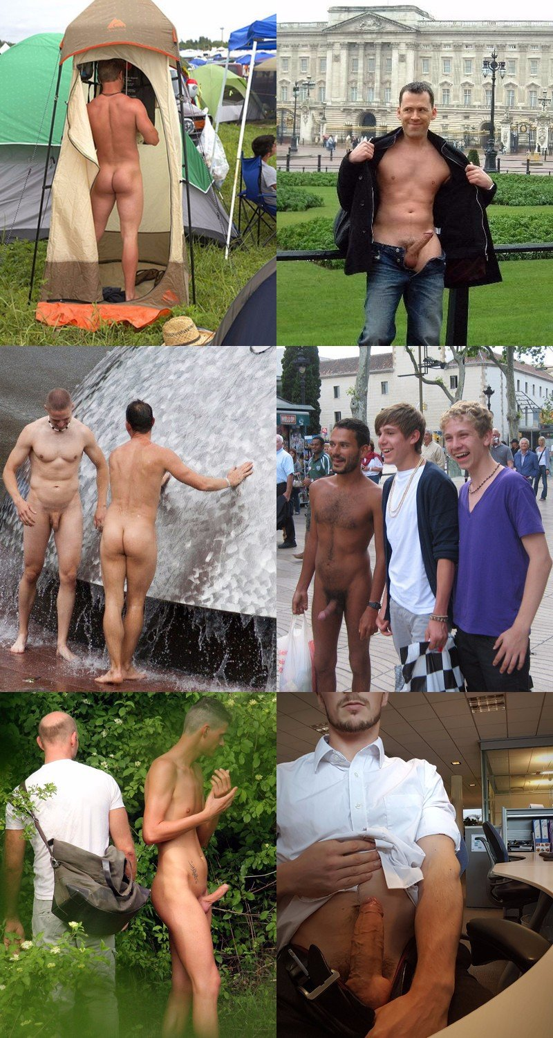 Public Exposure: Naked Men Celebration Public Exposure: Naked Men  Celebration