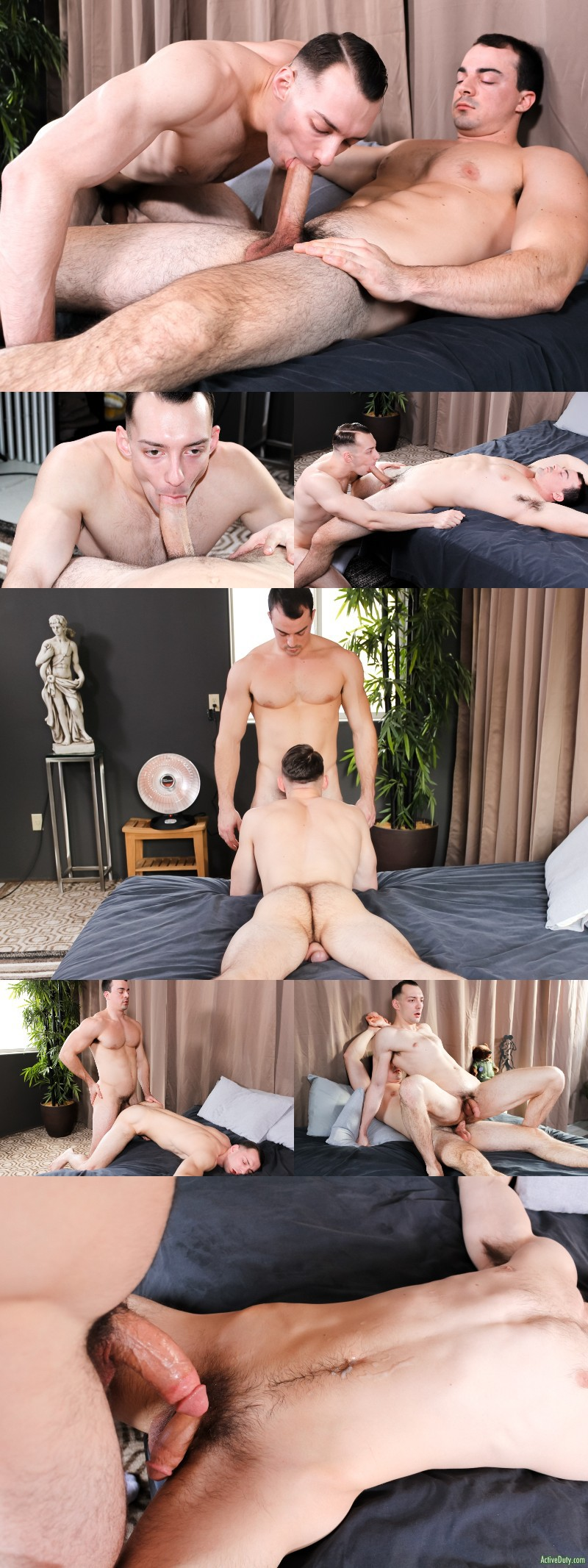 A Very Nervous Alex James Does His First Guy-on-Guy Sex Scene