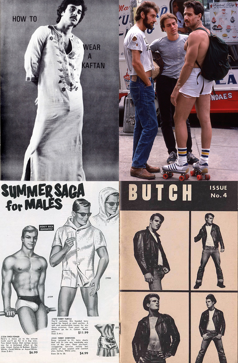 Something for the Weekend: Vintage Gay Fashions