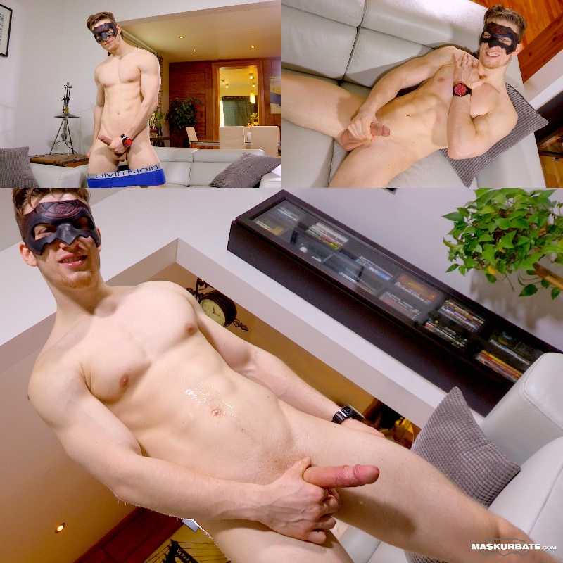 Jake's Masked Strip-Tease