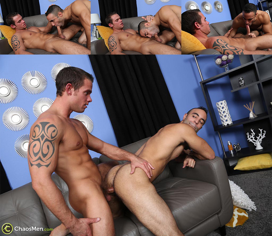 Cooper Reed and Lorenzo Flip-Flop