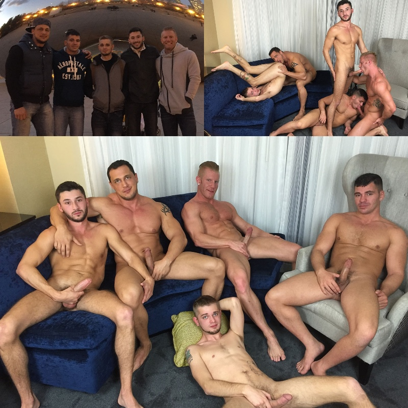 American Muscle Hunks Joins Jason Sparks Live in Chicago