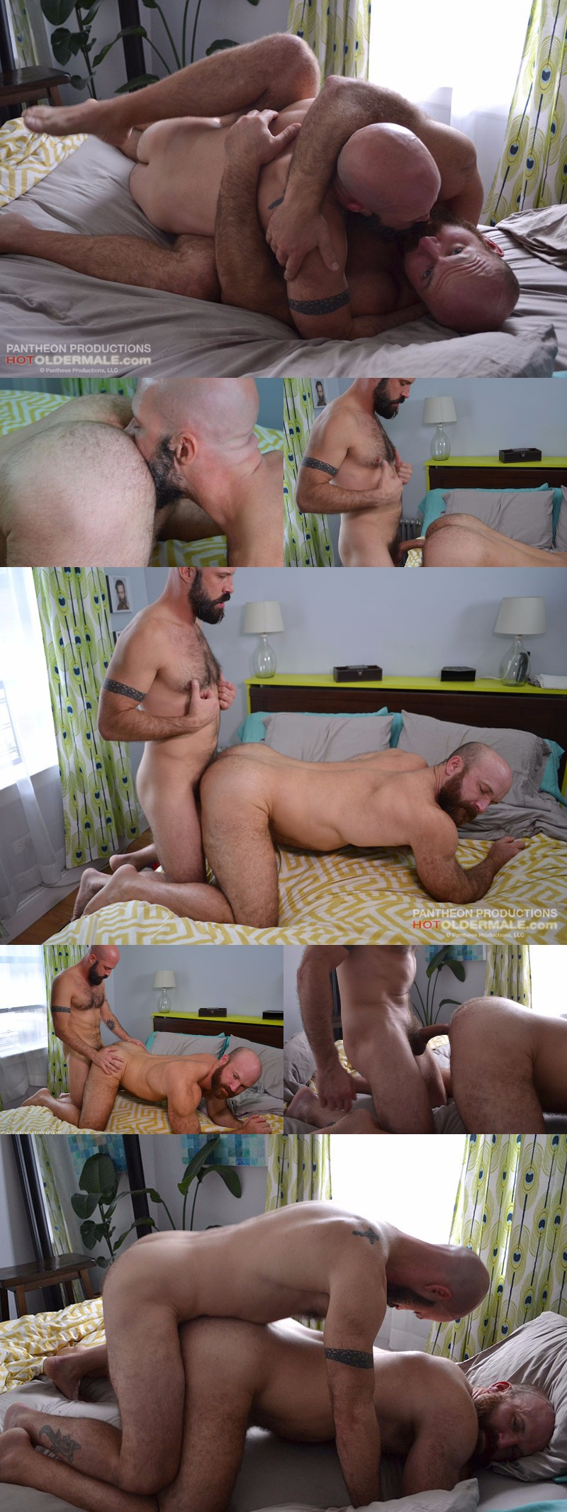 NY Muscle Bears Fuck in Bed