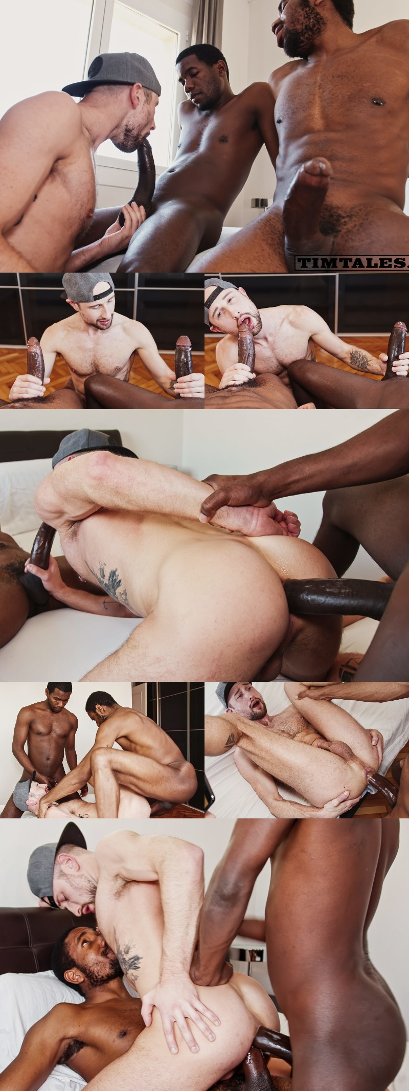 Drew Dixon Takes 21 Inches of Cock in His Second Double-Penetration Session