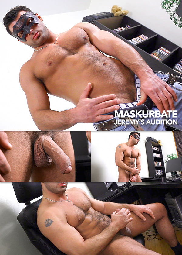 Jeremy's Audition at Maskurbate