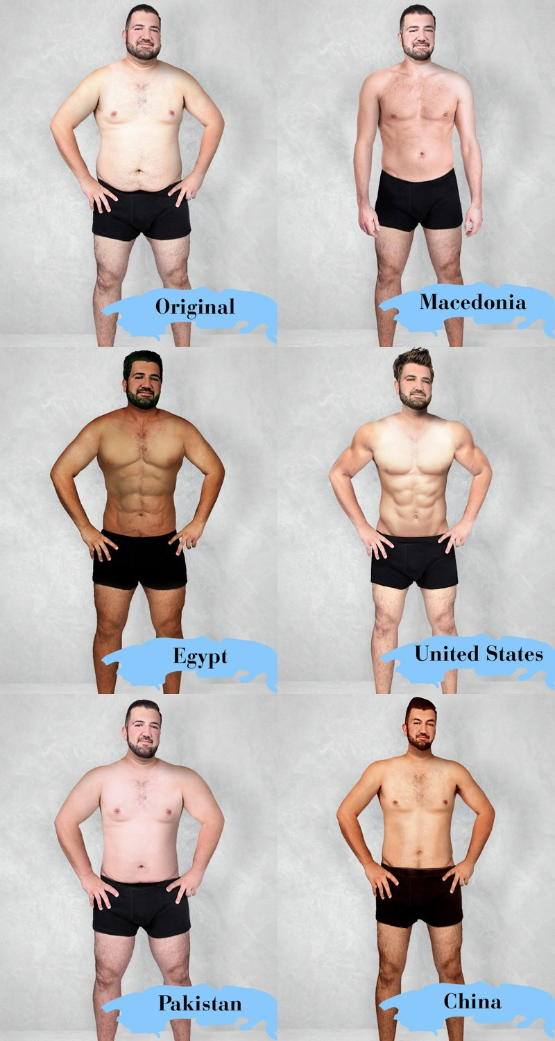 Something for the Weekend: What's the Ideal Man's Body?