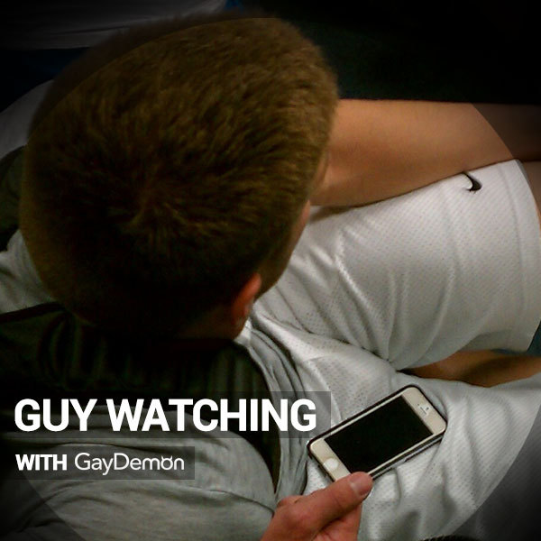 Guy Watching: Committing Public Hunkiness