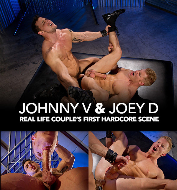 Real Life Couple Johnny V & Joey D's First Hardcore Scene