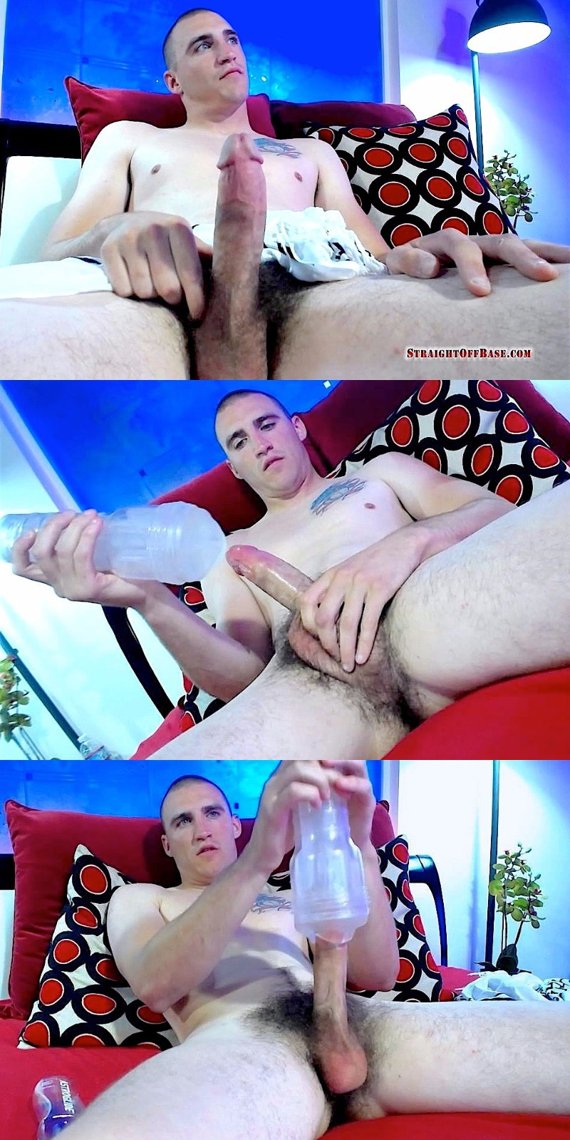 Marine Fleshjacks His Cock