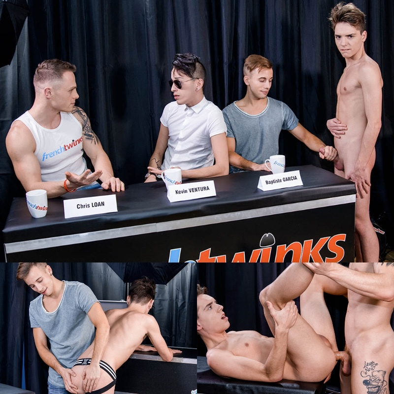 French Twinks: William Lefort's Casting