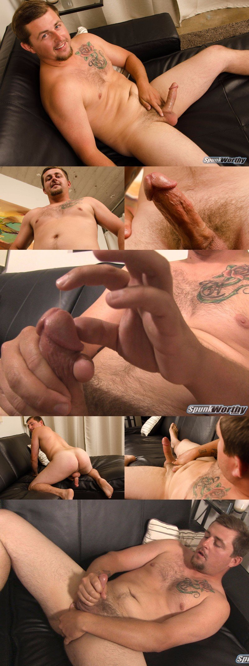 Straight Guy Loves the Taste of His Own Cum