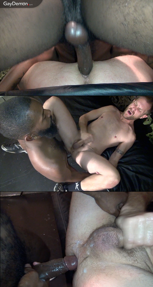 Huge Black Dick for Glory Hole Bottom