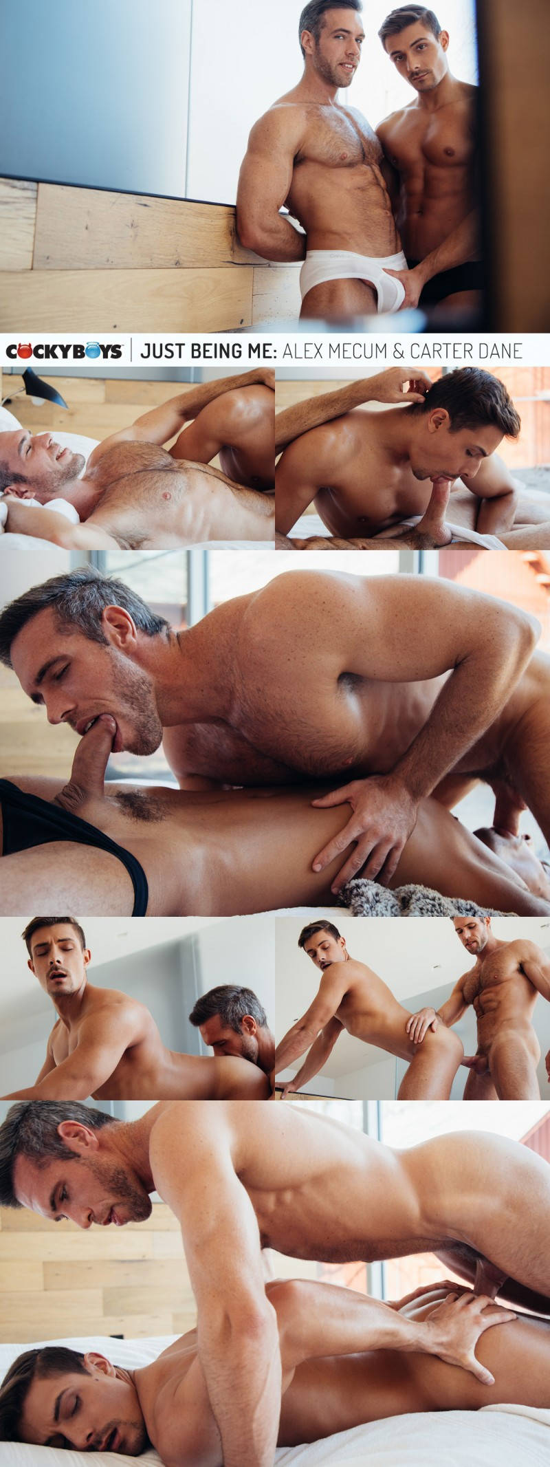 New Couple Alex Mecum & Carter Dane Talk About Their Relationship Before Barebacking