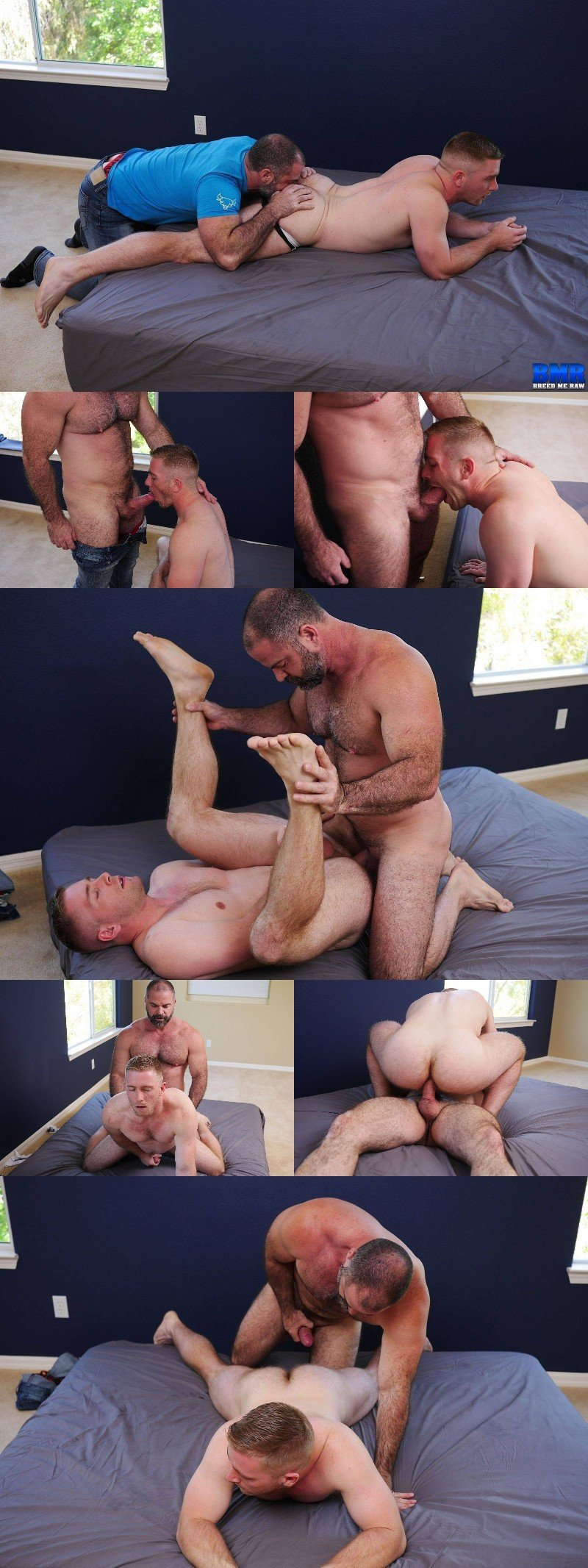 Beefy Delivery Man Fucks One of Daddy Reed's Boys