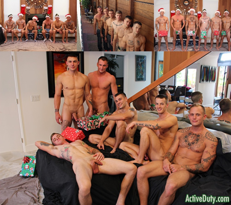 Coming Soon: 6-Man Active Duty Christmas Orgy