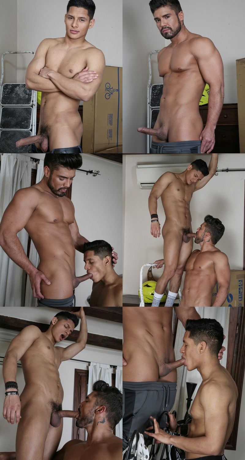 Newcomer Santiago Rodriguez Drills the Cum Out of Dann Grey