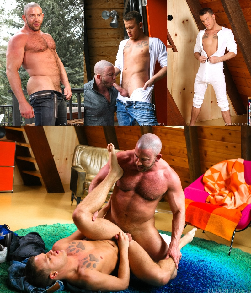 Brandon Wilde & Shay Michaels in 'Guys Only Retreat'