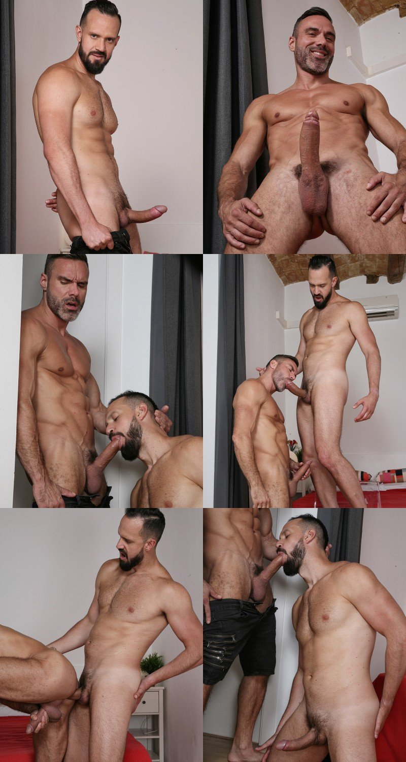 Two Hunks Square Off With Their Nine-Inch Dicks
