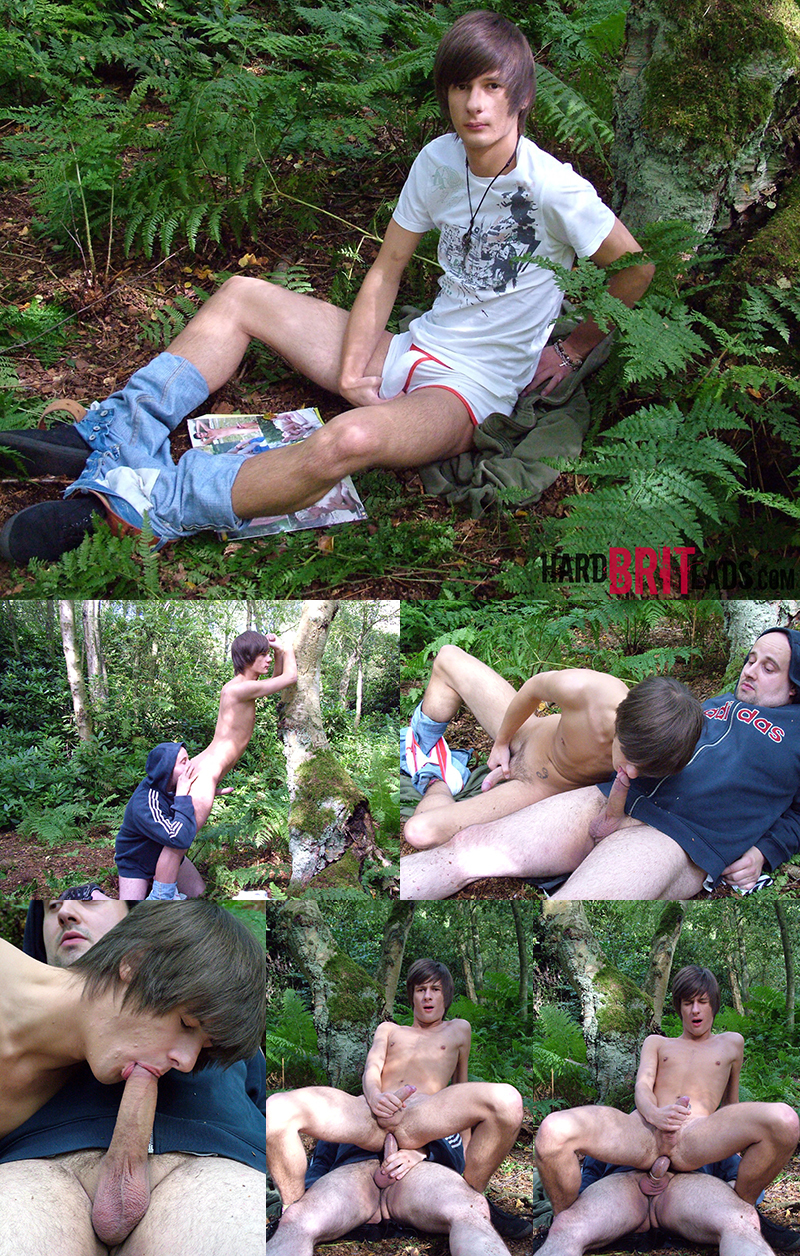 Outdoors at Hard Brit Lads: Carl Ross & Harley James