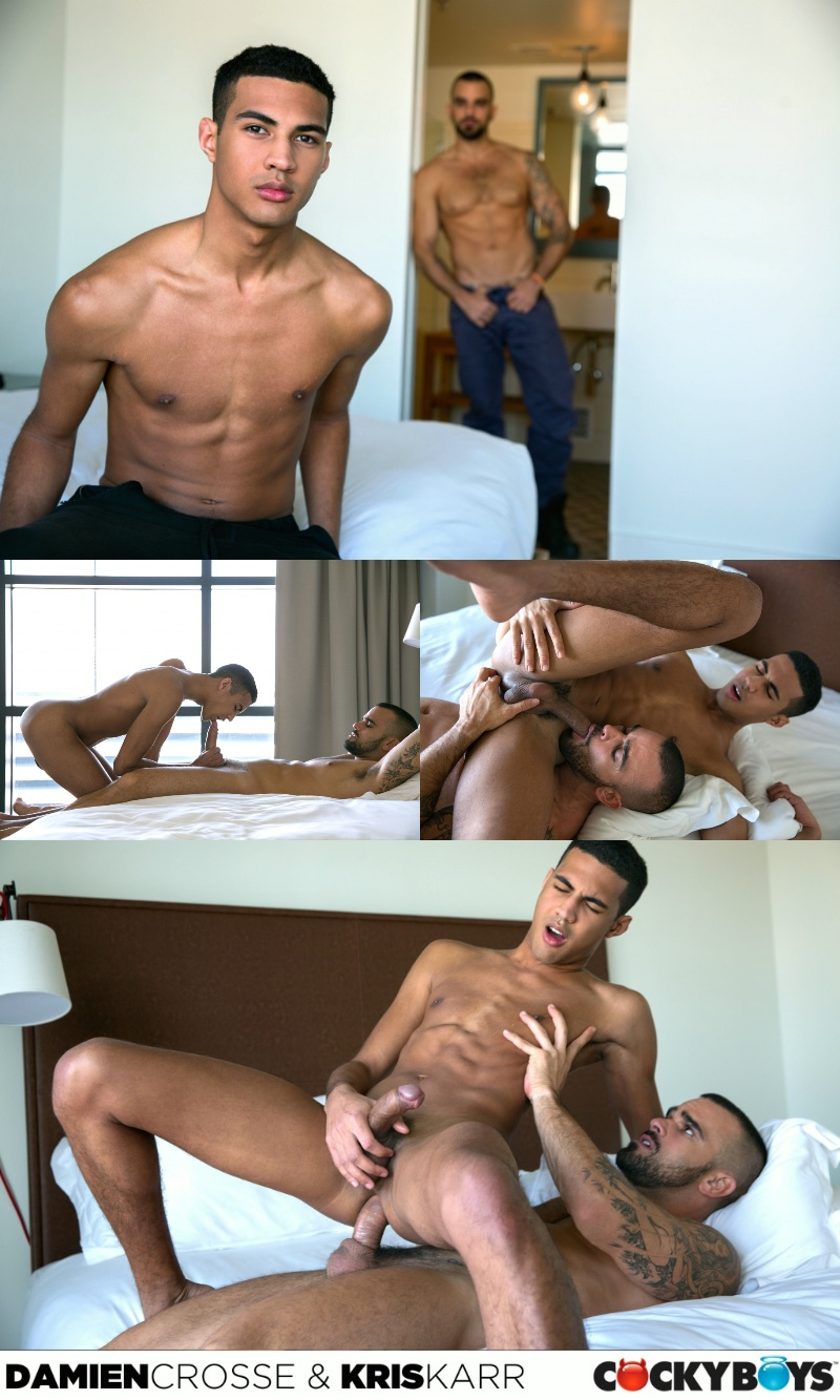 Cocky Boys: Newcomer Kris Karr & Damien Crosse