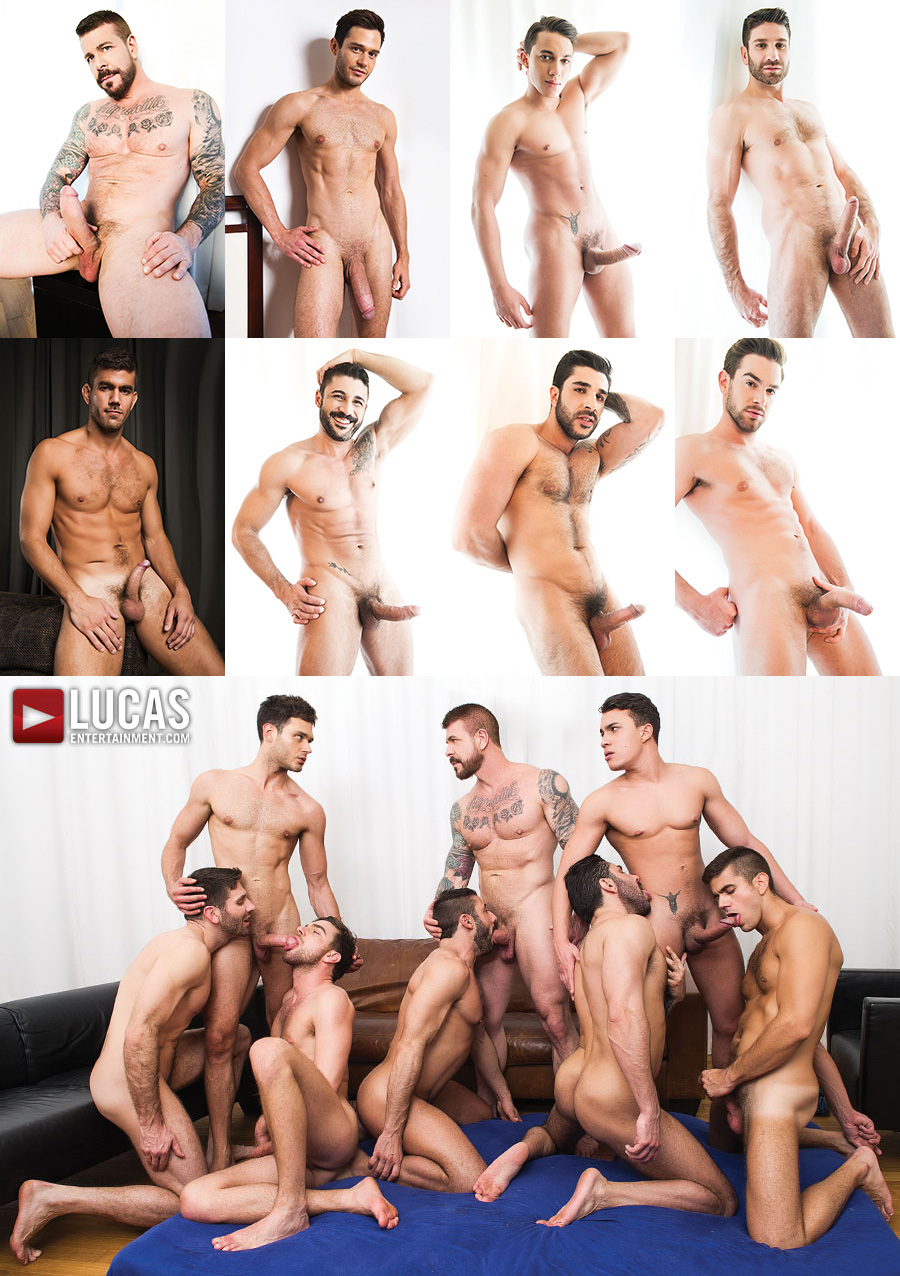 Max Schutler Returns to Porn in Bareback Orgy