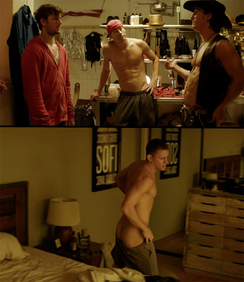 Channing Tatum & Christian Gehring Nudes at Mr. Man