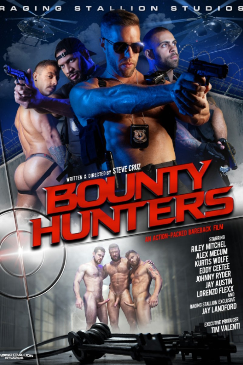 "Raging Stallion Releases New Bareback DVD ""Bounty Hunters"""
