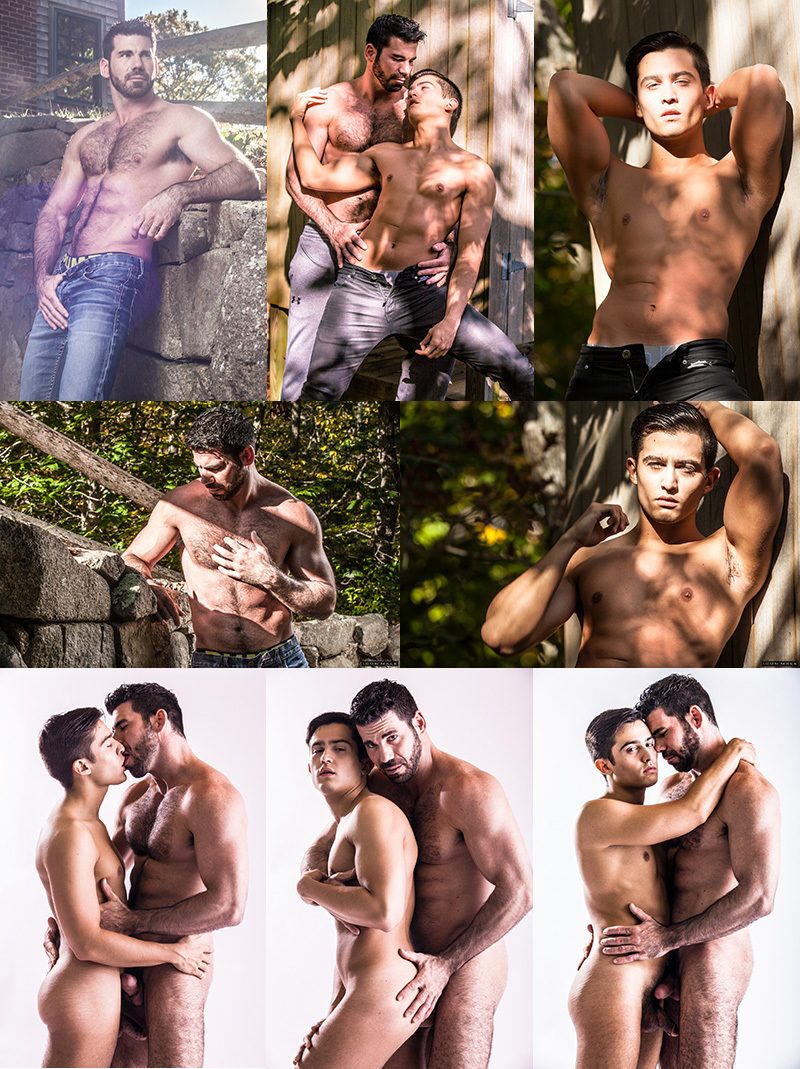 Billy Santoro & Jacob Ladder at Icon Male
