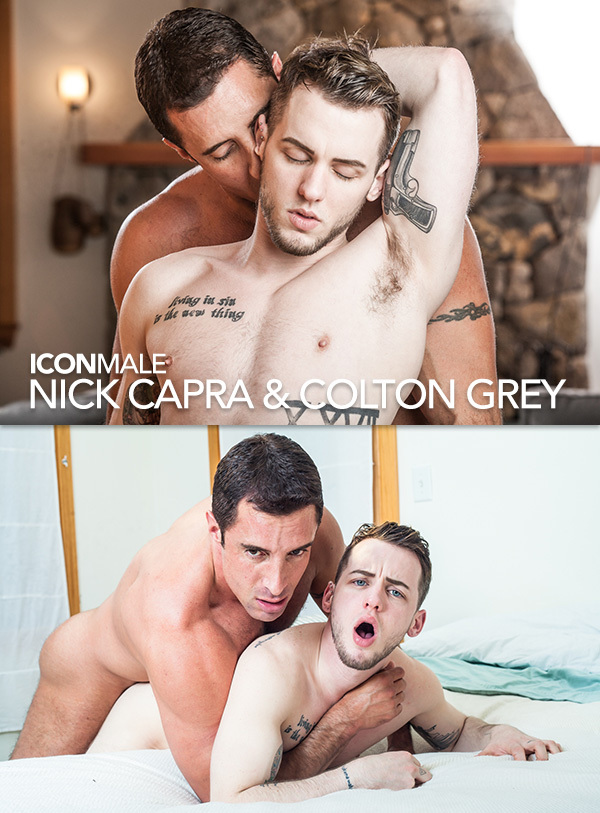 Nick Capra Fucks Colton Grey at Icon Male