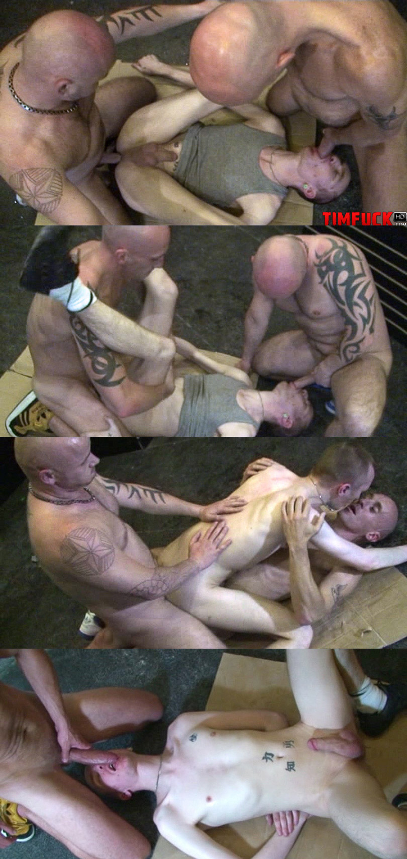 Spit Roasted Raw by Two Skinheads