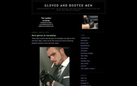 Gloved and Booted Men
