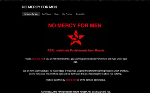NO MERCY FOR MEN