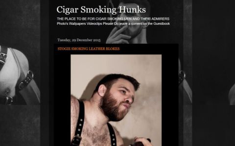 Cigar Smoking Hunks