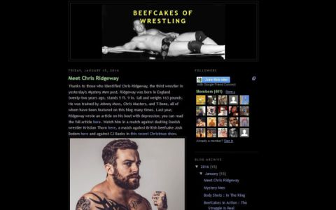 Beefcakes of Wrestling