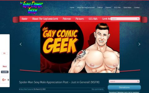 Illustrated gay sex blog sites