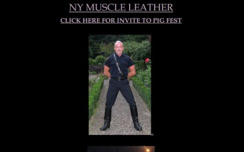 NYC Muscle Leather