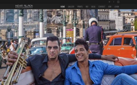 Kevin Slack Photography - Cuba and Cuban Men