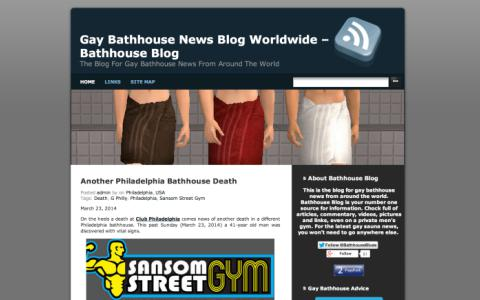 Bathhouse Blog