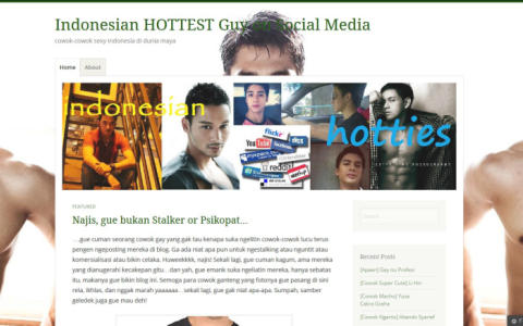 Indonesian Hottest Guy on Social Media