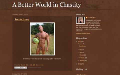 A Better World in Chastity