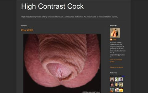 High Contrast Cock