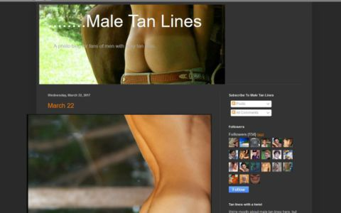 Male Tan Lines